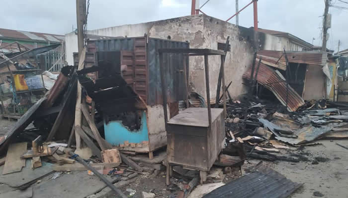 One allegedly killed, shops, vehicles destroyed as two rival cults clash